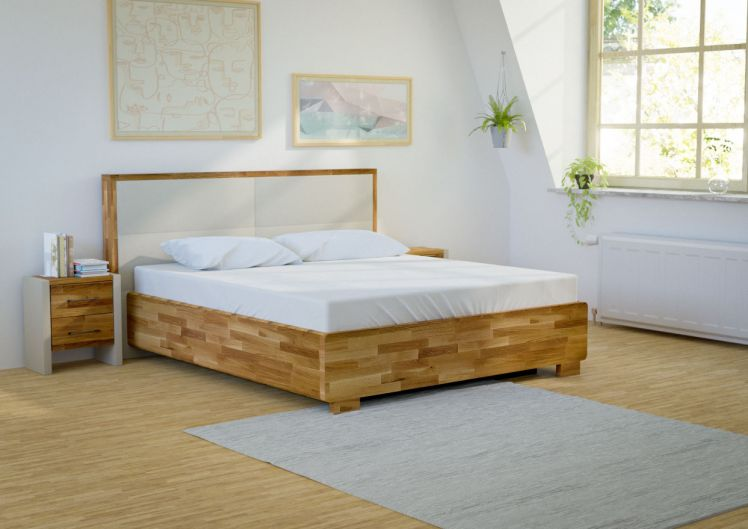 bellvita Wasserbett OSLO mit Massivholz-Bettrahmen