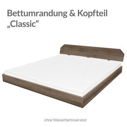 """Bettumrandung und Kopfteil """"Classic"""" für bellvita Wasserbett"""