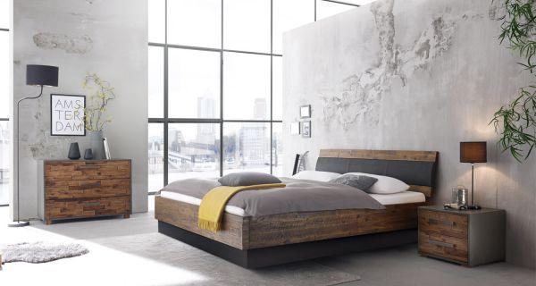silverline Wasserbett Vintage - Massivholz