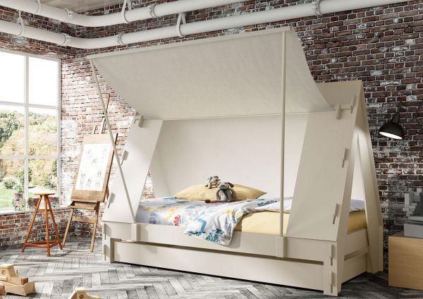 bellvita Kinder -Wasserbett im Abenteuer Zelt - guter Schlaf für Ihre Liebsten
